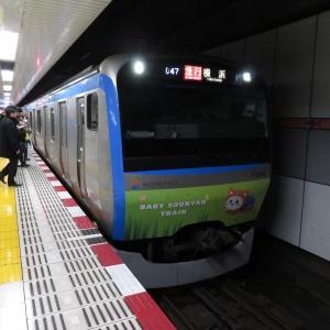 相鉄11000系(六代目そうにゃんトレイン) 相鉄本線横浜行き