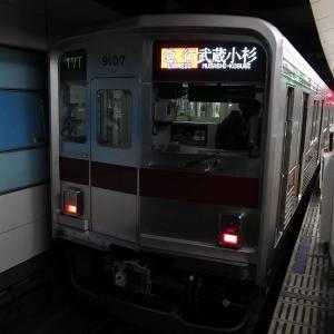 東武9000系 東急東横線急行武蔵小杉行き行き