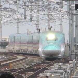 北海道新幹線「はやぶさ28号」東京行き 新青森→盛岡