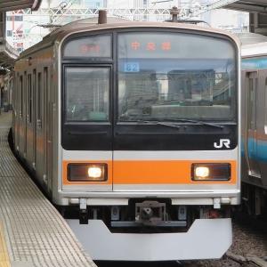 JR東日本209系1000番台 中央快速線快速東京行き