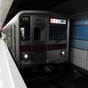 東武9000系 東急東横線通勤特急新宿三丁目行き