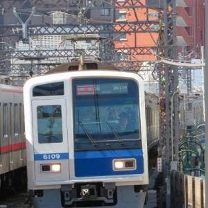 西武6000系 東急東横線特急清瀬行き
