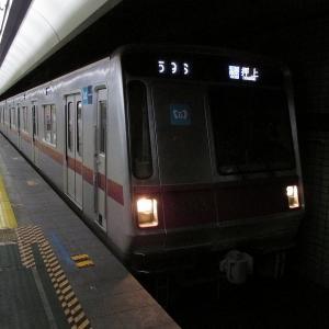 東京メトロ8000系 東京メトロ半蔵門線各停押上行き