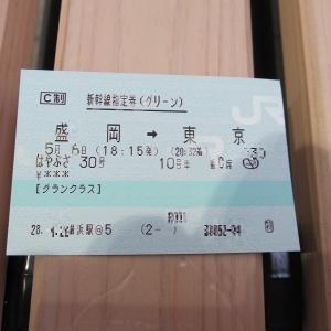 東北新幹線「はやぶさ30号」 E5系東京行き 盛岡→東京