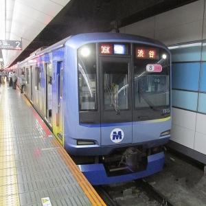 横浜高速鉄道Y500系 東急東横線各停渋谷行き(幕)
