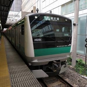 JR東日本E233系7000番台 埼京線各停新木場行き