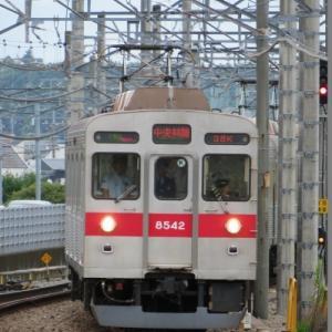 東急8500系(8642F) 東急田園都市線準急中央林間行き