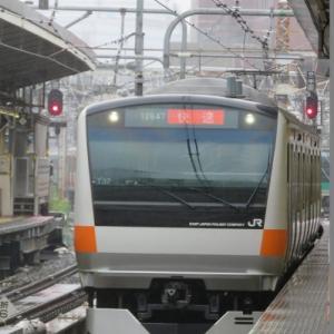 中央快速線 E233系 トイレ付編成