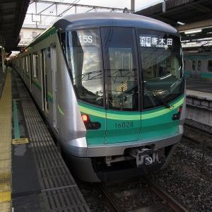 東京メトロ16000系(4次車) JR東日本常磐線各駅停車唐木田行き(白)