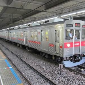 東急8500系東急田園都市線押上行き(8634)
