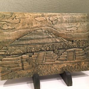 木彫レリーフ