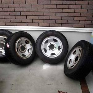 冬タイヤを廃棄