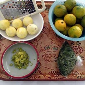 柚子胡椒を作る