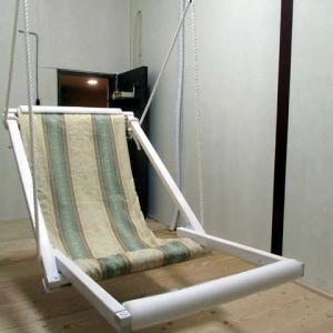 手作りブランコ椅子