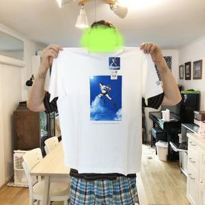 夫のTシャツとか。