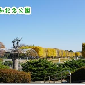 銀杏並木の名所☆昭和記念公園へ