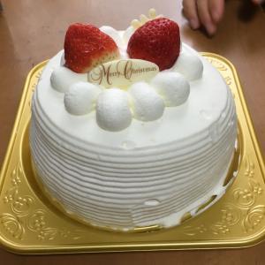 クリスマスイブのケーキ