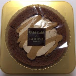 ローソンでゴディバのケーキ
