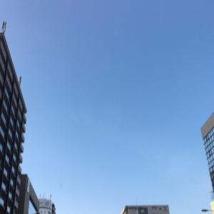 大阪快晴です
