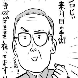 ジロじぃ目の手術