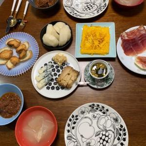 丹稲菹から繋がる食・チーズと卵を試す
