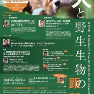 【12/1 札幌】きたネットフォーラム2019「 人と野生生物の距離」危険生物・感染症など、リスクをもつ野生生物とどうつきあうか