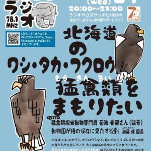 2/24(水)20:00から円山ZOOラジオ