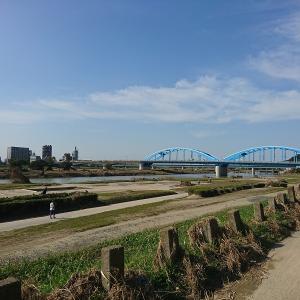 ランチポタ to 多摩川河口