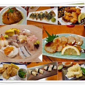 お祝いの会食と菜の花と貝掘り