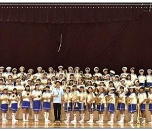 金管バンド初の大舞台