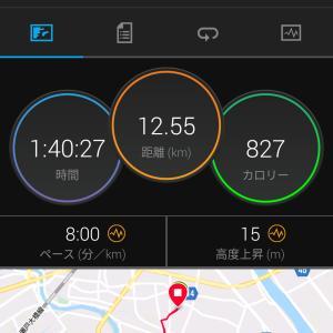 今日(今月)のジョギング