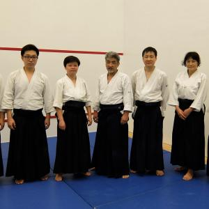 Aikikai Yubukan Saturday - Resume the class -