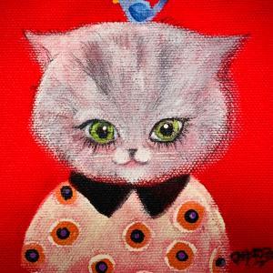 【イラスト】ネコ大好き!寒い日はコシヒカリ玄米珈琲がおススメ