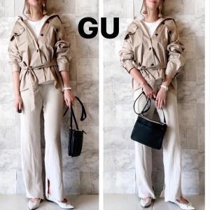 【GU】着回し力が抜群なジャケットコーデ