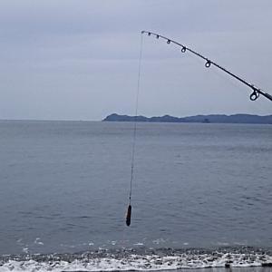 キス釣り……北ノ脇海岸。