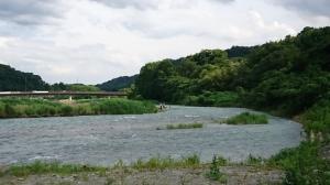 中津川八菅橋上流
