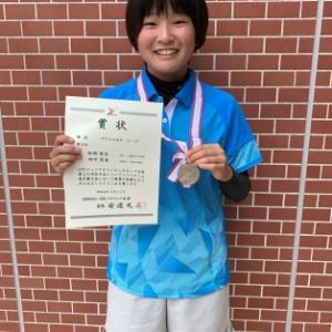 JOC全日本ジュニアソフトテニス選手権大会 U17ダブルス準優勝
