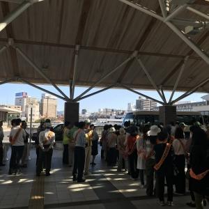 岡山駅東口周辺放置自転車クリーン作戦の参加