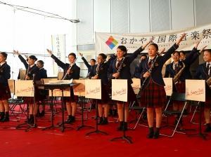 【吹奏楽部】おかやま国際音楽祭オープニングコンサート