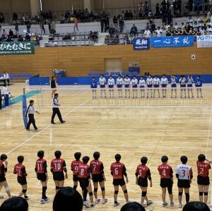 【バレーボール部】高校選手権大会結果報告