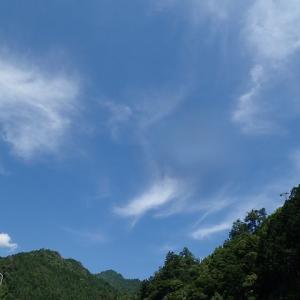 青空でしたが~上北山村