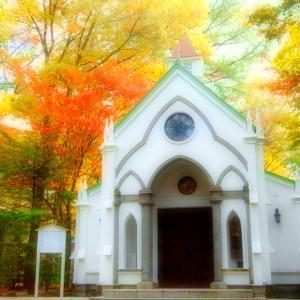 旧軽井沢礼拝堂 / 旧軽井沢 ホテル音羽ノ森&ホテルルシアン♪