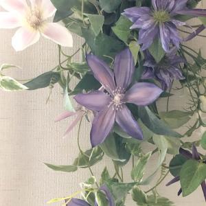 春色からブルー、パープル、グリーンの初夏の色へ・・