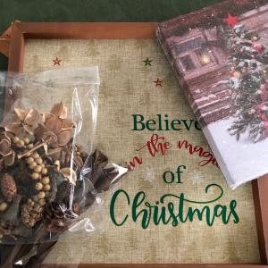 """クリスマスには""""木の実""""を使いたくなります!"""