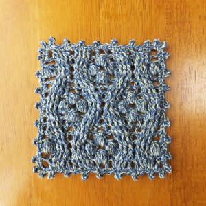縁編み完了
