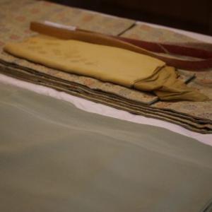 母の形見の着物&フランシスデュブルーユとマチルダ