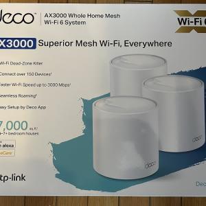TP-Link Deco X60 広範囲で安定のWiFi環境