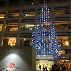 丸の内KITTEのクリスマスツリー
