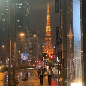 夏バージョンの東京タワー