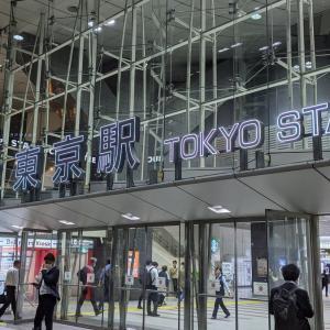 東京駅と丸の内の夜景